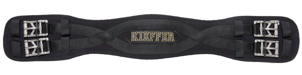 Der atmungsaktive Klassiker aus dem Kieffer Gurt-Sortiment: Sattelgurt Air-Tex gibt es als Kurz- oder Langgurt